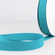 Schrägband türkis aus Baumwolle PES 20mm