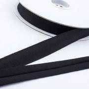 3m Jersey-Schrägband 20mm schwarz