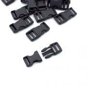 5 Steckschnallen 10mm mit Regulierer