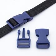 Steckschnalle 20mm dunkelblau