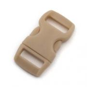 5 Steckverschlüsse 10mm beige