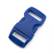 5 Steckverschlüsse 10mm electric blue