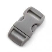 5 Steckverschlüsse 10mm grau