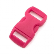 5 Steckverschlüsse 10mm pink