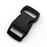 5 Steckverschlüsse 10mm schwarz