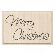 Stempel Merry Christmas 2 - 7 x 4,2 cm