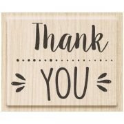 Stempel Thank you 5 x 3,8 cm