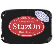Stempelkissen 10 x 7 cm black cherry