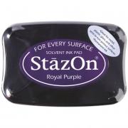 Stempelkissen 10 x 7 cm royal purple