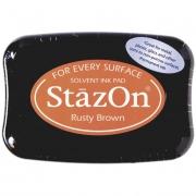 Stempelkissen 10 x 7 cm rusty brown