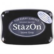Stempelkissen 10 x 7 cm stone gray