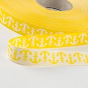 Anker Webband, gelb 15mm