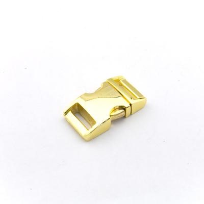 Alu-Max Schnellverschluss 15mm gold hochglanz
