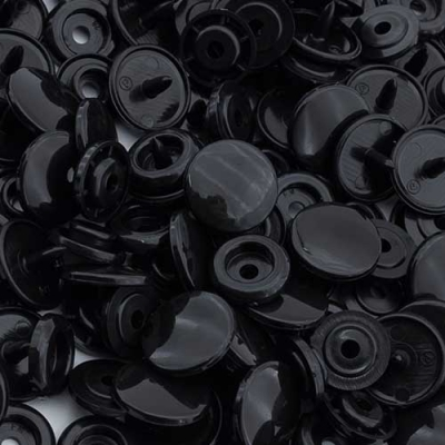 20 BabySnap Druckknöpfe T5 schwarz B5