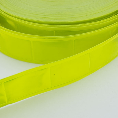 Reflektorband neon gelb 25mm