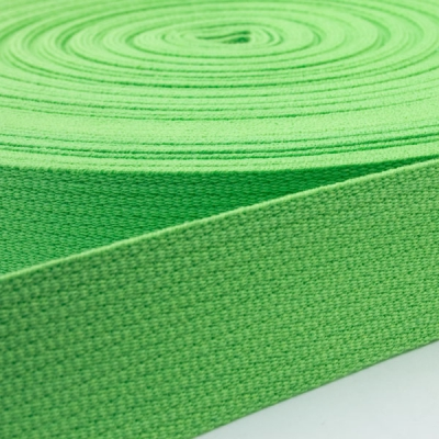 Baumwoll-Gurtband hellgrün 30mm