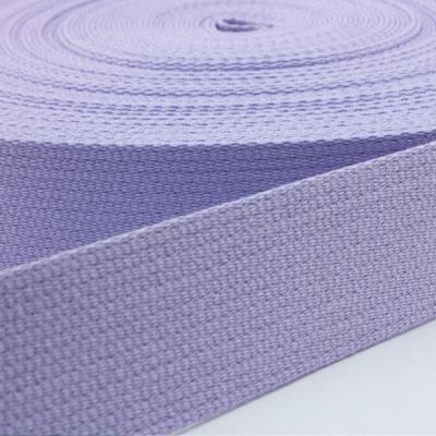 Baumwoll-Gurtband lavendel 30mm
