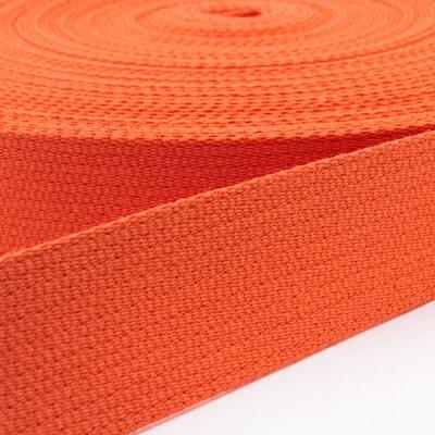 Baumwoll-Gurtband orange 30mm