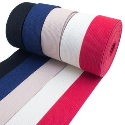 20m Baumwollband-Set 30mm - 5 Farben