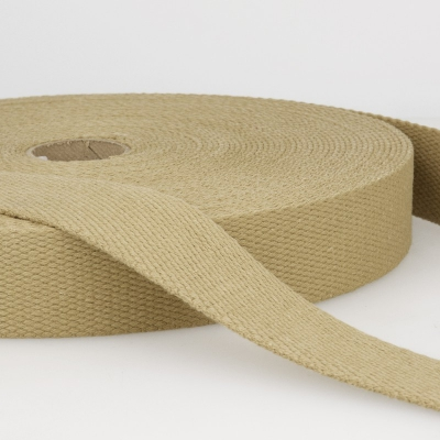 Gurtband Baumwolle desert 40mm