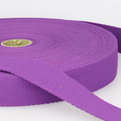 Gurtband Baumwolle lila 30mm