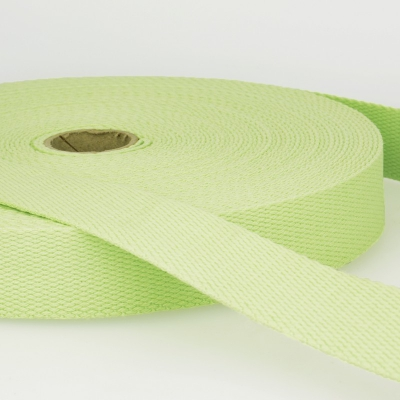Gurtband Baumwolle hellgrün 30mm