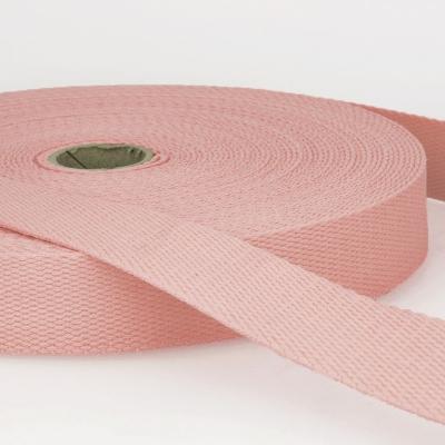 Gurtband Baumwolle zartrosa 40mm