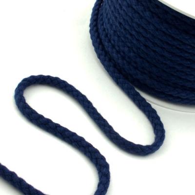 25m Baumwollkordel 5,3mm dunkelblau