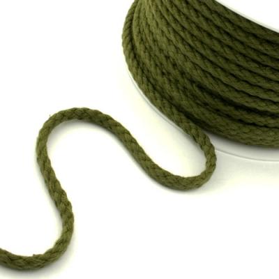 Baumwollkordel 5,3mm oliv