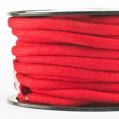 Baumwollkordel 7mm Meterware rot