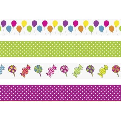 Deko Tape Ballons 4er