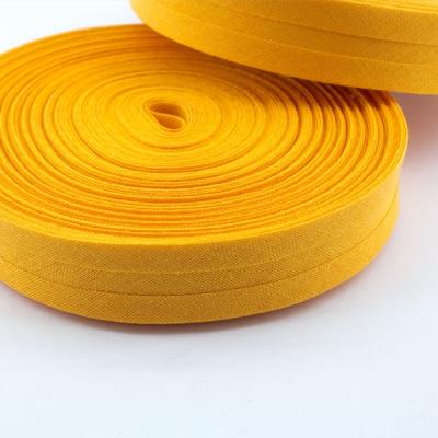 Schrägband orange aus Baumwolle 20mm