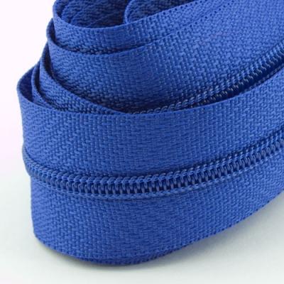5 Meter Endlosreißverschluss blau 3mm