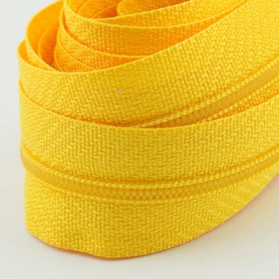 5 Meter Endlosreißverschluss butterblume gelb 3mm