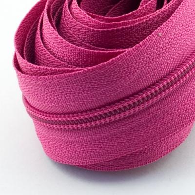 5 Meter Endlosreißverschluss pink 3mm