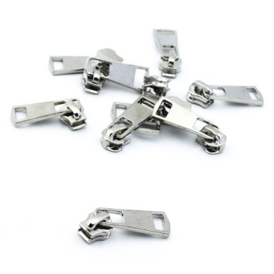 Schieber für Metall-Endlosreißverschluss