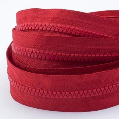 5m Profil-Endlosreißverschluss rot 5mm