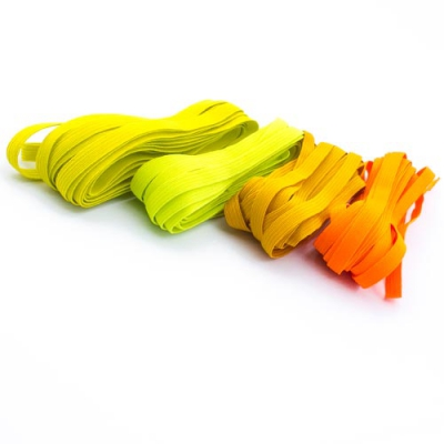 20m Gummiband-Set 7mm Mix gelb