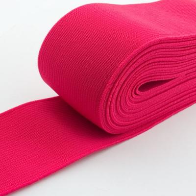 Gummiband 50mm neon pink