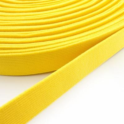 Gummiband butterblume gelb 20mm