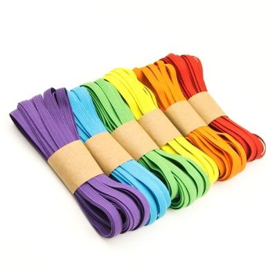 30m Gummiband-Set 7mm Regenbogen