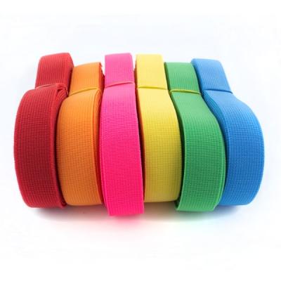 Gummiband Set kräftige Farben 12m