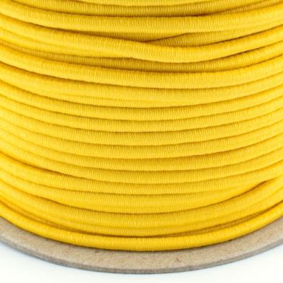 Gummikordel 3mm gelb