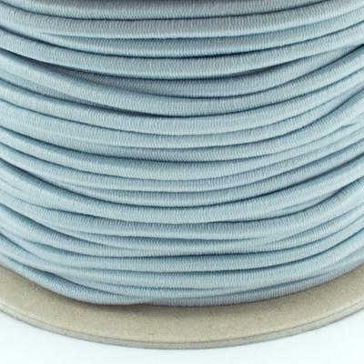 Gummischnur 3mm silbergrau
