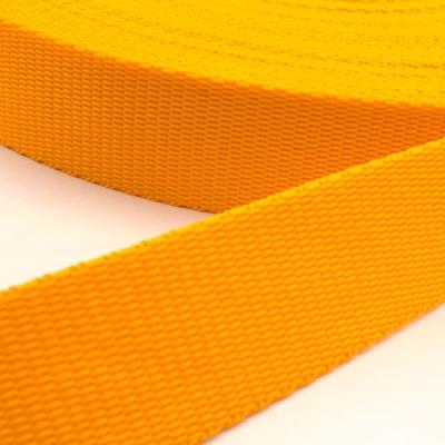 Hochwertiges Gurtband gelb 30mm