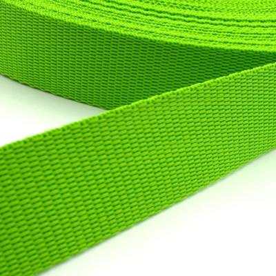 Hochwertiges Gurtband hellgrün 40mm