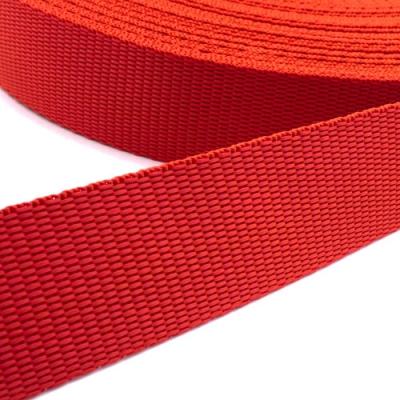 Hochwertiges Gurtband rot 25mm