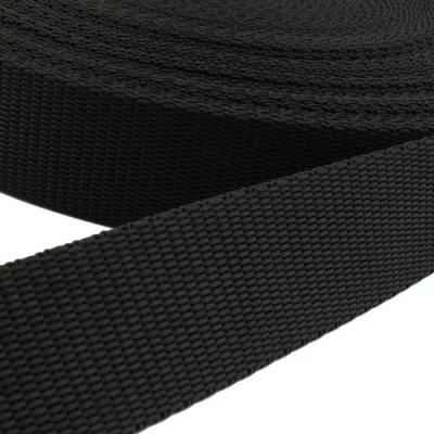 Hochwertiges Gurtband schwarz 20mm