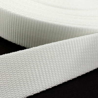 Hochwertiges Gurtband weiß 50mm