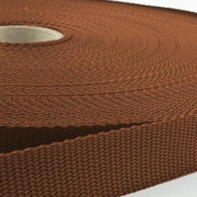 Gurtband 20mm Made in Germany braun